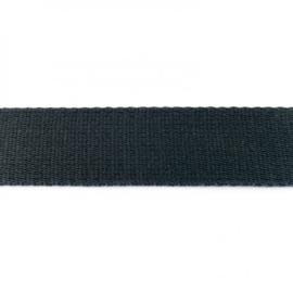 Tassenband Katoen | Antraciet | 4cm breed