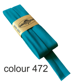tricot biaisband | turquoise | col. 472