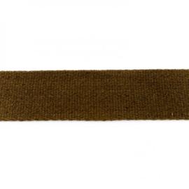 Tassenband Katoen | Armygroen | 4cm breed
