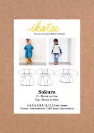 Ikatee Pattern | Sakura - Blouse & Dress - Girl 3/12