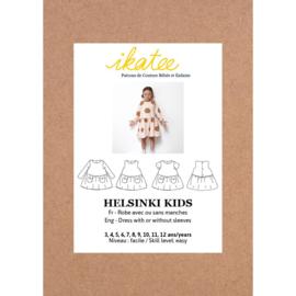 Ikatee Patterns - HELSINKI Kids dress - Girl 3/12Y