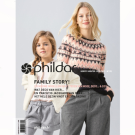 Phildar nr. 195  | herfst - winter 2020/2021 - Family Story