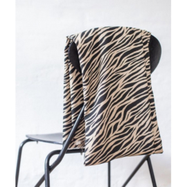 Mind the Maker | Zebra Black - Ecru | Viscose