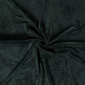 Heavy Velvet Knitted - Dark Green