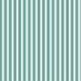 Katoen Poplin   Stripe   Old Green 029