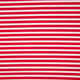 Punta di Roma | Stripes medium  | rood - wit