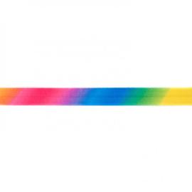 41256 elastisch biaisband regenboog 15mm