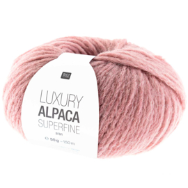 Rico Design - Luxury Alpaca Superfine Aran - Oudroze 013