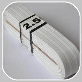 elastiek wit 2,0 cm