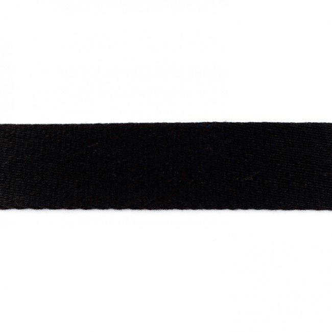 Tassenband Katoen | Zwart  | 4cm breed