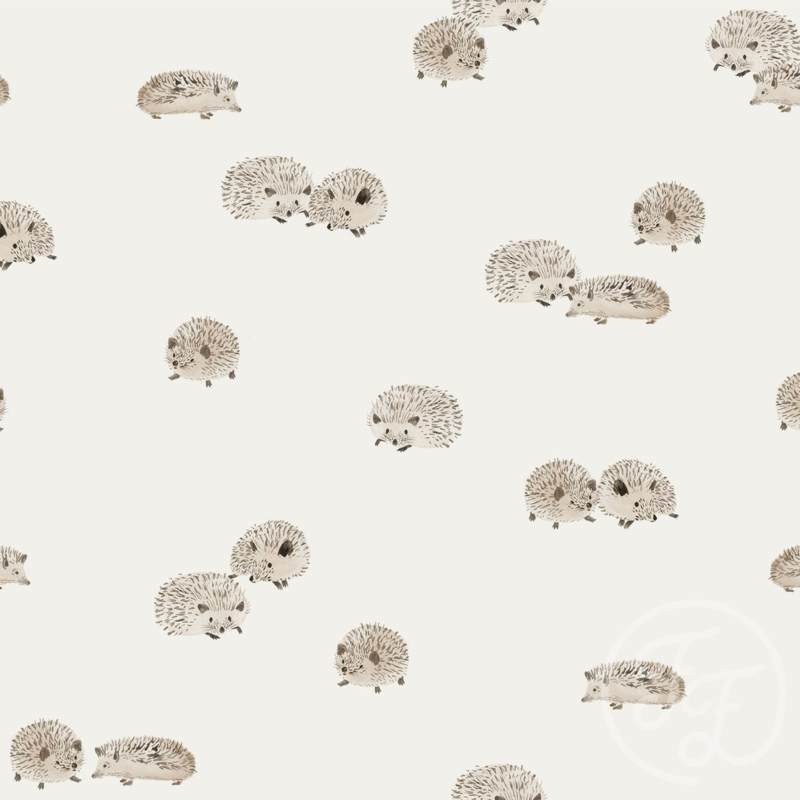 Family Fabrics   Tricot Print   Egeltje