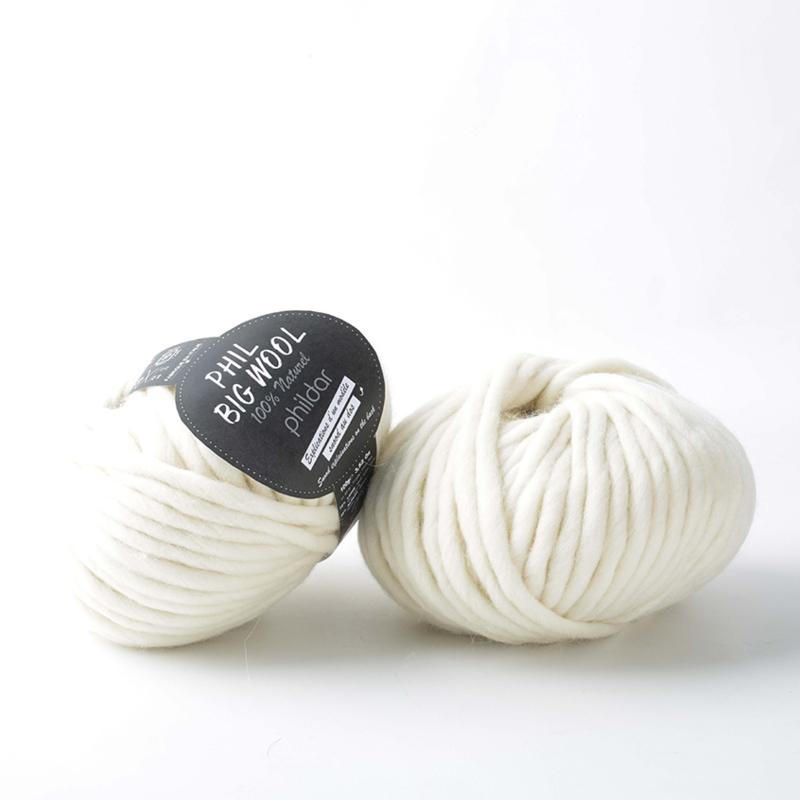 Phil Big wool | Ecru
