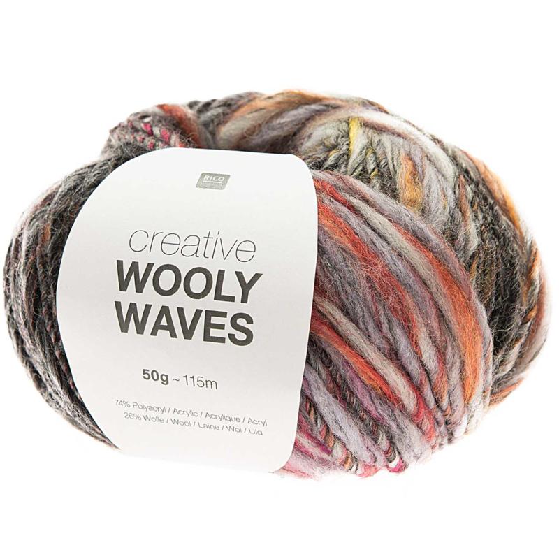 Rico Design | Creative Wooly Waves - black 006