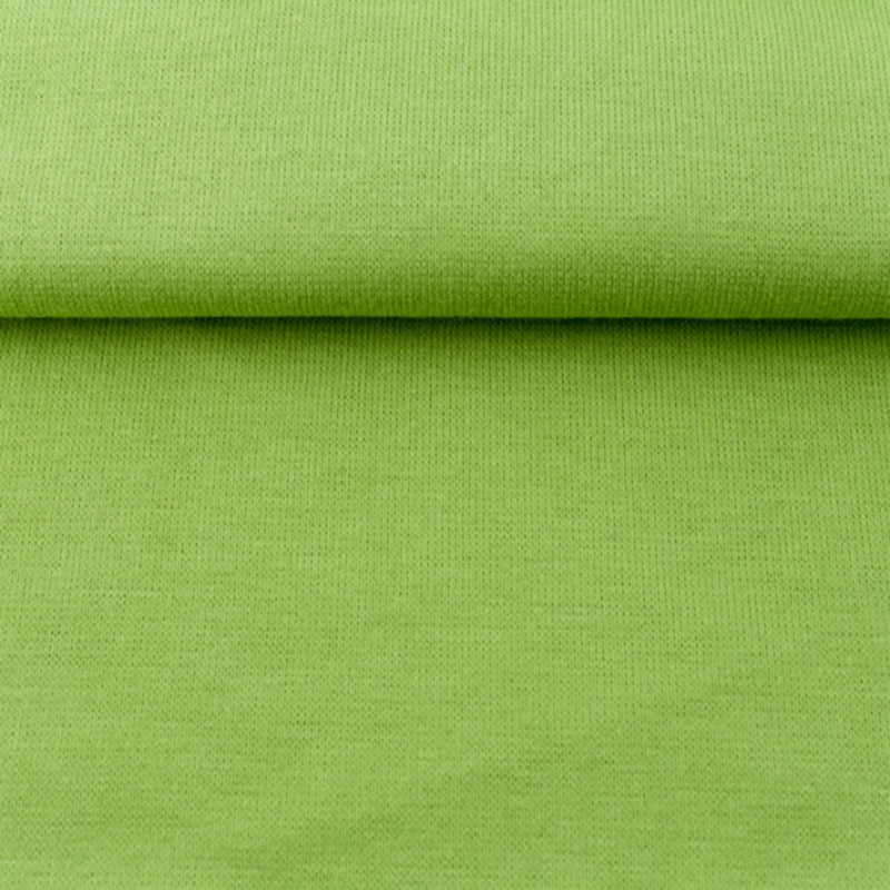 tricot boordstof uni | lime