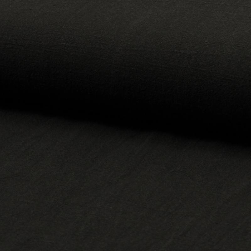 Linnen Stonewashed   Black  214-069