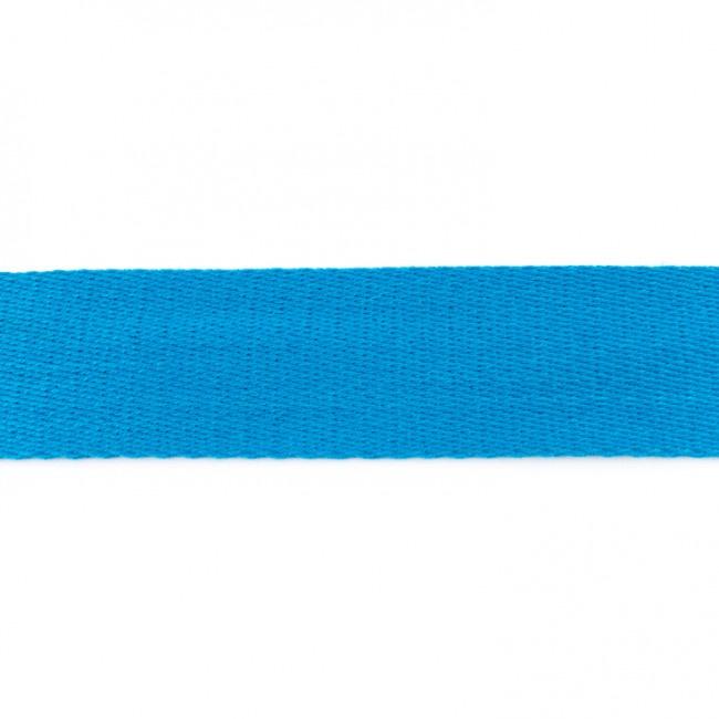 Tassenband Katoen | Aqua | 4cm breed