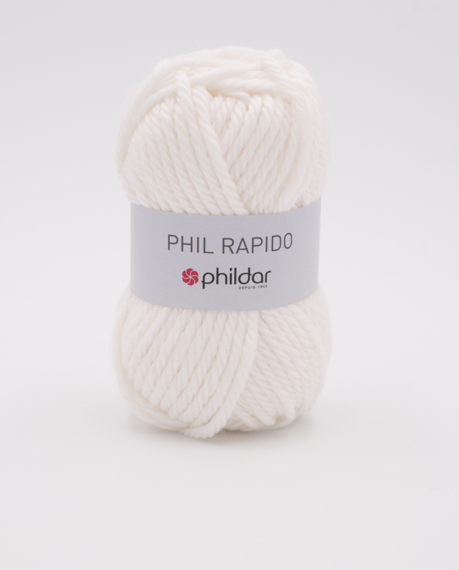 Phil Rapido | Blanc