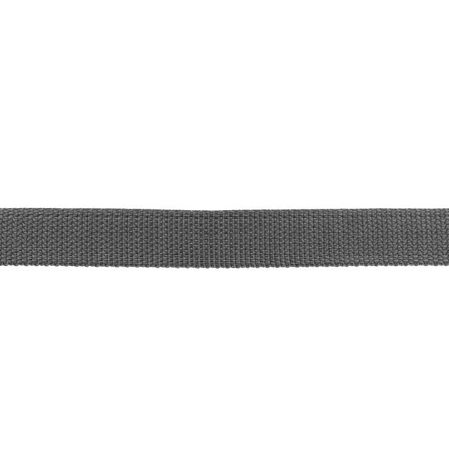 Tassenband Polypropylene | Antraciet  -  25mm
