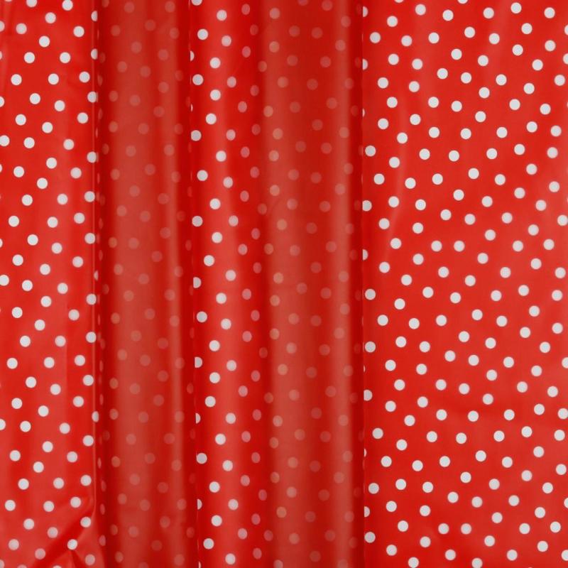 Rainy Dots | Red