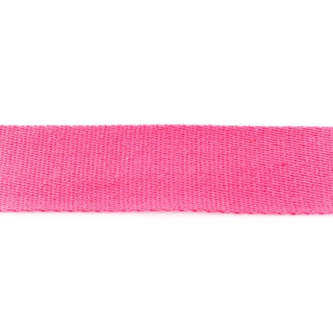 Tassenband Katoen | Fuchsia | 4cm breed