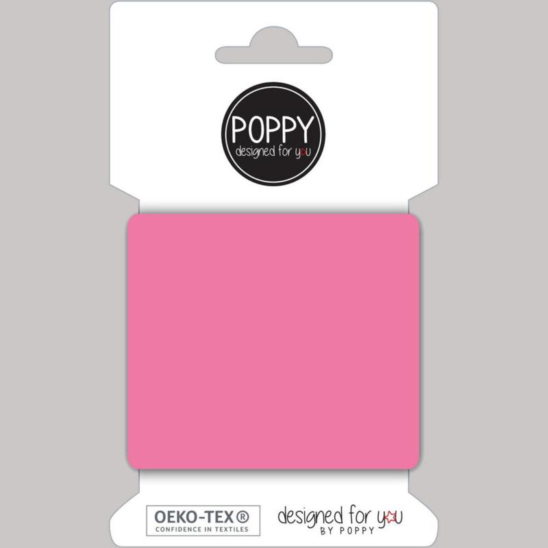 Tricot boord   Kaart   135 cm lang    Pink 016