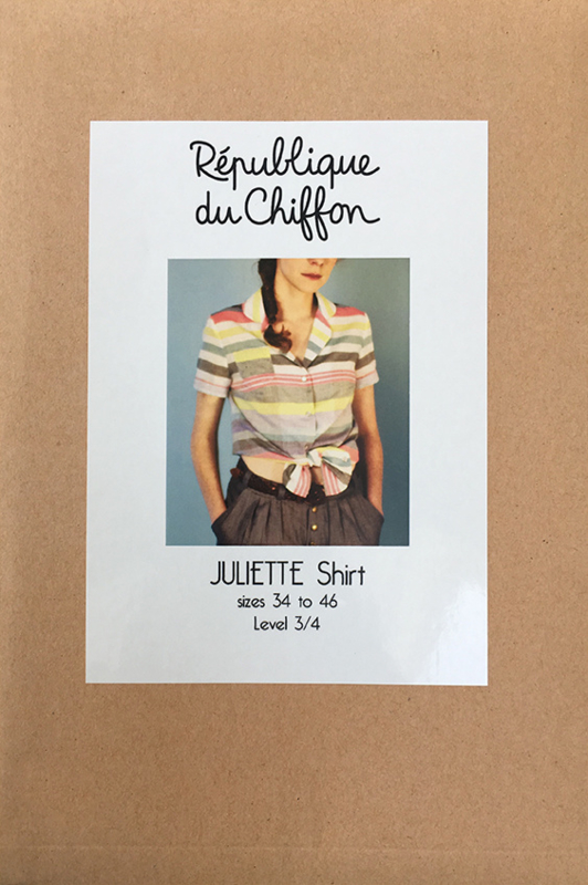 Republique du chiffon | Juliette shirt | Engelstalig