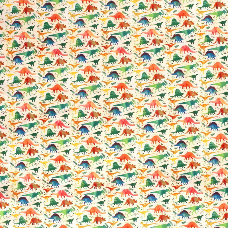 Softshell Dino - Ecru