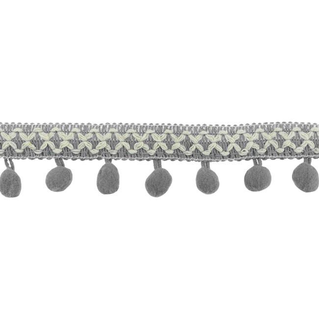 Bolletjesband   Cross - Grijs  31618