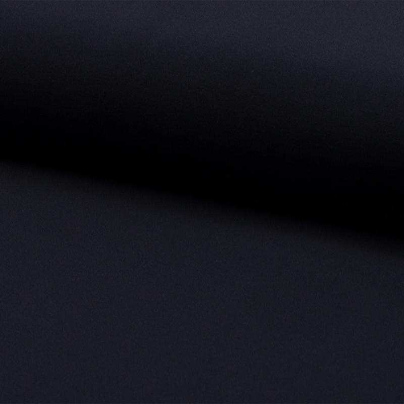 Wool touch  | two way stretch | Dark Navy 309