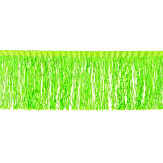 Franjeband  | 10 cm | Lime  - 32885