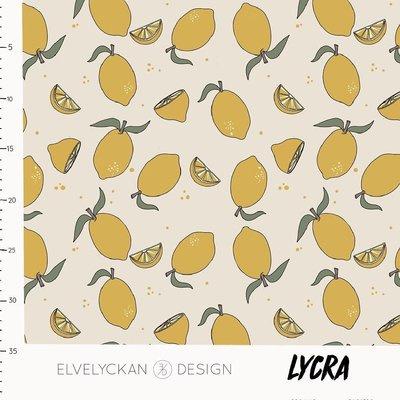 Elvelyckan design   Lycra - Lemons