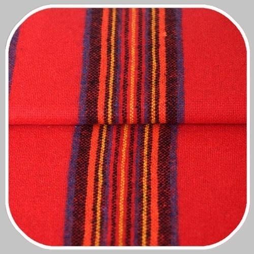 streep   rood met geel,blauw en oranje