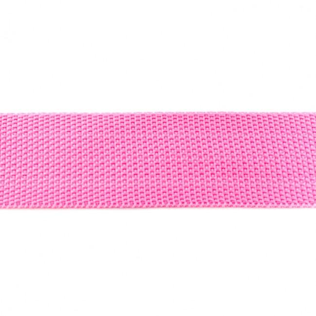 Tassenband Polypropylene | Roze  |  40mm
