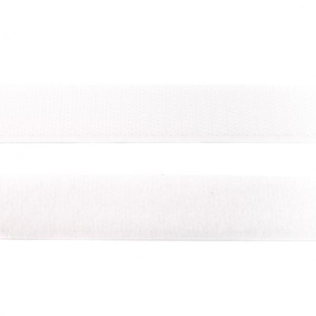 klittenband | wit breedte 20 mm
