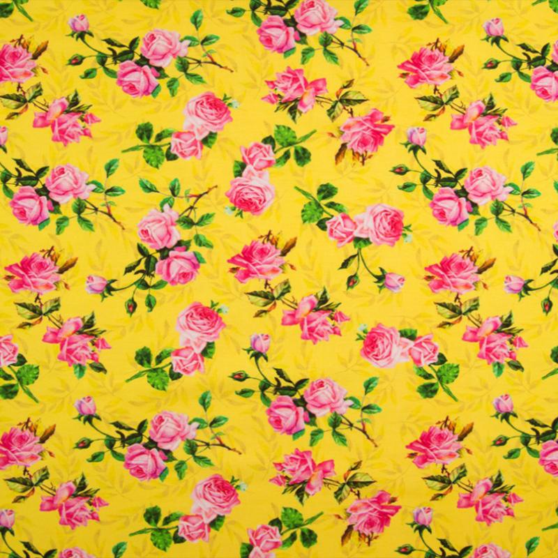 Tricot Digitaal | Roses - Pink