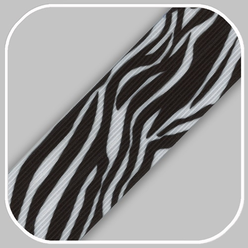 zebra print 4 cm