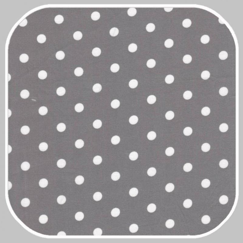 katoen Dot    S   grijs