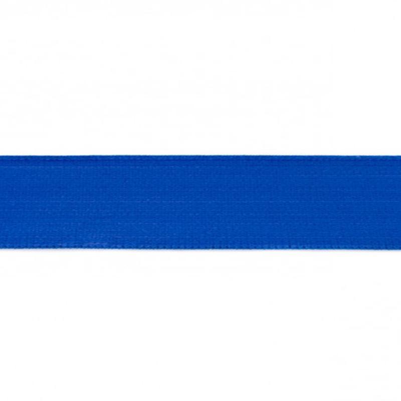 elastiek uni | 4 cm | kobalt