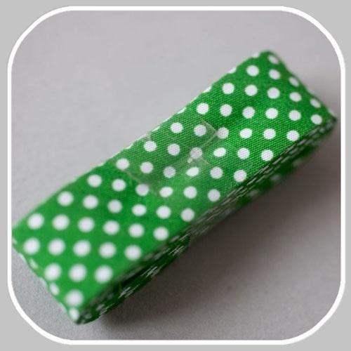 stip hard groen-  2 meter / 20mm