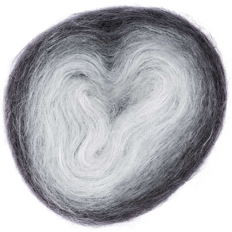 Superkid Mohair Loves Silk - Colourlove    001 Grey