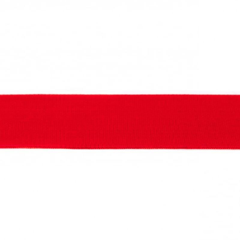 elastiek uni | 4 cm | rood