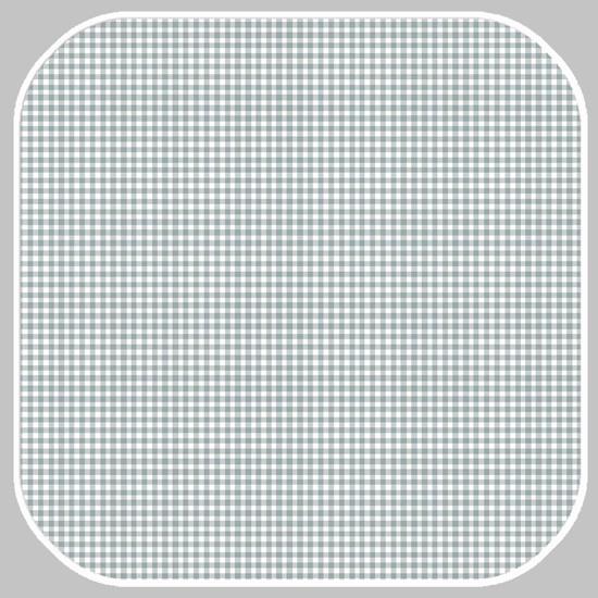 Katoen Ruit  | ruit -S | 03085.042 grijsgroen