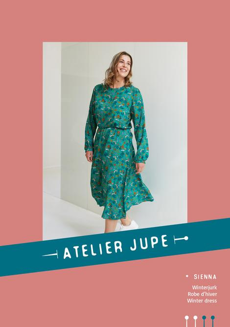 Atelier Jupe | Sienna winter  dress - Paper pattern
