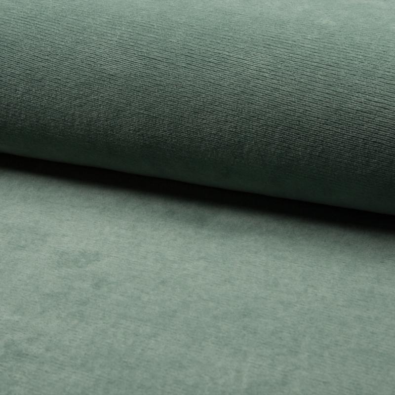 Jersey Fine Rib | Dusty Mint