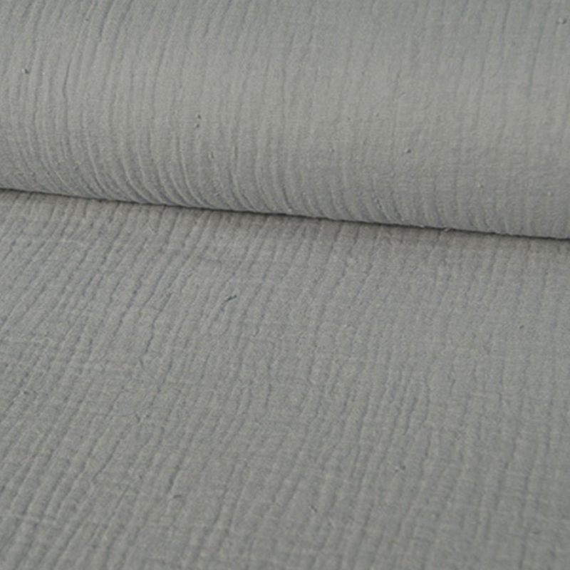 double gauze baby cotton- 003    grijs