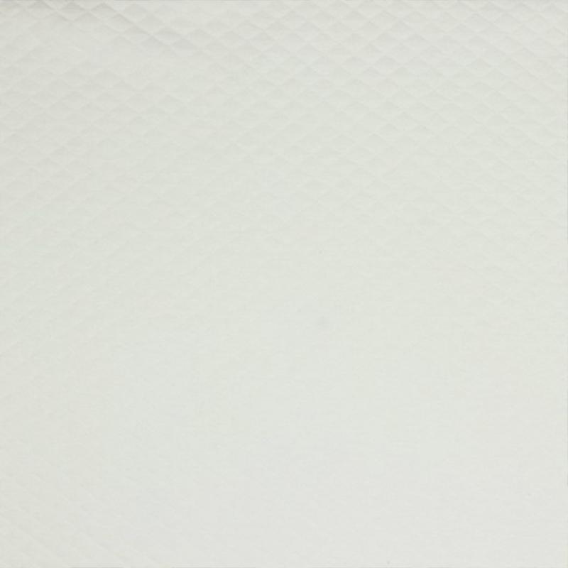 Tricot uni - Wafel - Quilt   Ecru  002