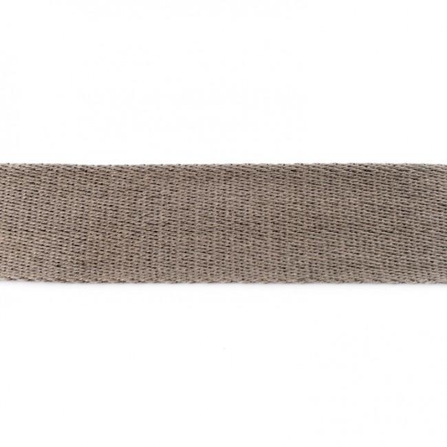 Tassenband Katoen | Grijs | 4cm breed