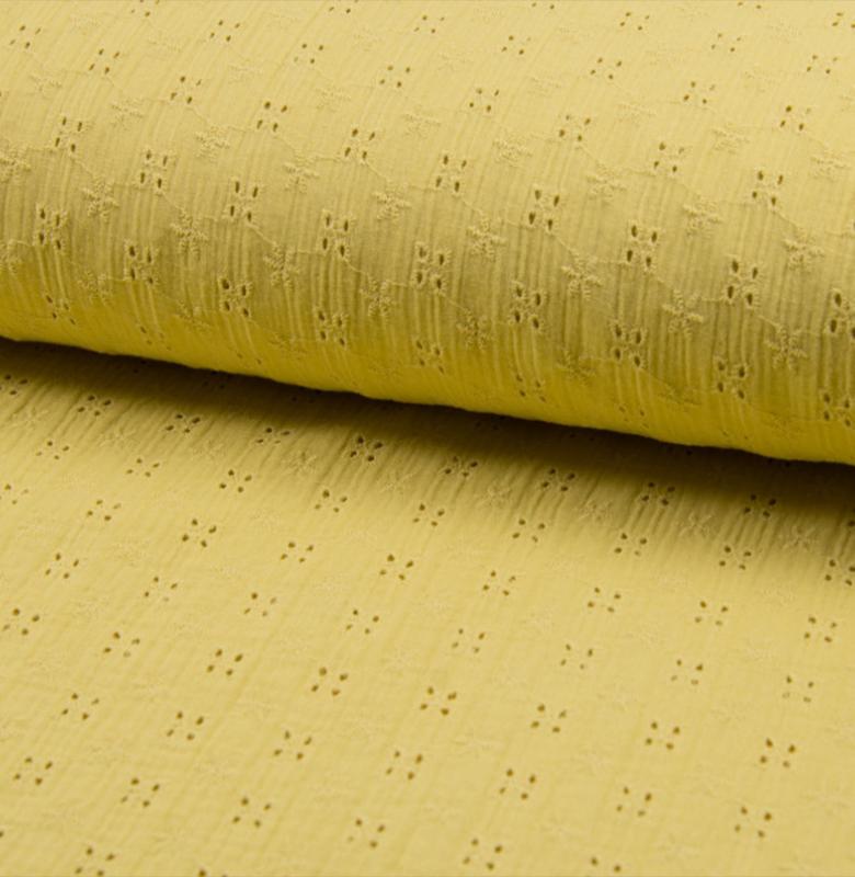 Bambino Embroidery | Soft Yellow
