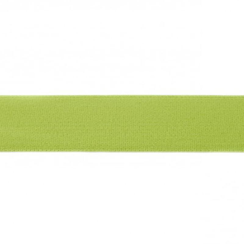 elastiek uni | 4 cm | limegroen