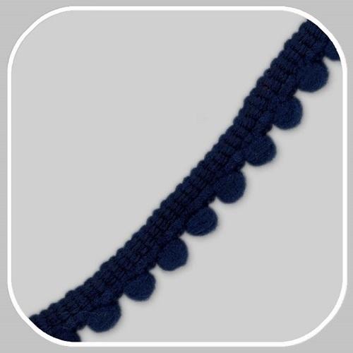 minibolletjesband donkerblauw